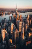Fototapeta City - Manhattan Skyline