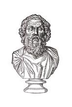 Portrait Of Ancient Greek Auth...