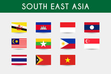 Set Of South East Asia
