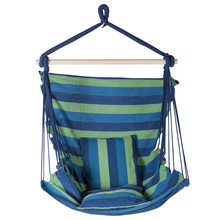 Fabric Hammock Chair With Blue...