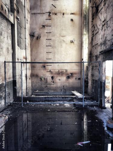 Photo old abandoned factory