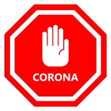 Corona Covid-19 Virus Danger S...