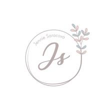 Minimalist Logotype Jennie Sar...