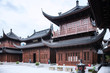 Leinwanddruck Bild - Jade Buddha Temple Shanghai