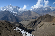 High Mountainous Landscape. Vi...