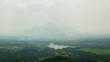 natural landscape from the top Sigiriya Sri Lanka timelapse