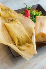 Chili Cheese Corn Tamale