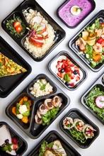 Zdrowa Dieta Pudełkowa Sniadanie Obiad Lunch Box, Pełnowartościowy, Zbilansowany Fit Posiłek Na Cały Dzień