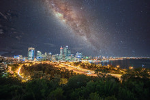 Milky Way Over Perth, Western ...