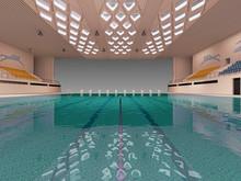 Indoor Swimming Pool, BIM Proj...