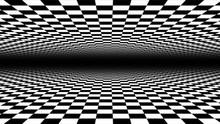 Abstract Checkerboard Landscap...