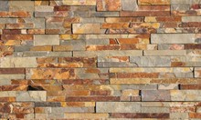 Brick Wall With Sandstone And ...