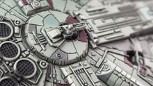 Millennium Falcon Model Top Vi...