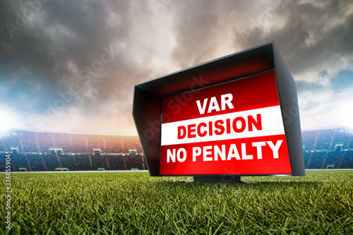 technology var decision no penalty Wallpaper Mural
