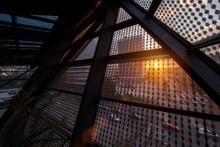 Sunset Through A Glass Roof