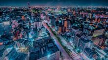 名古屋金山からの夜景