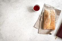 Red Wine And Bread
