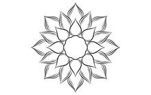 Circle Pattern Petal Flower Of...