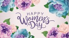 Happy Women's Day Poster Desig...