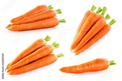 Carrot isolate Fototapet