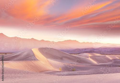 Sand dunes in California Canvas Print