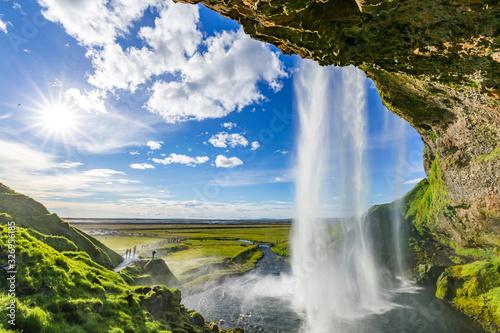 Fototapety, obrazy: Seljalandsfoss in Iceland