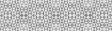 Gray White Traditional Motif T...
