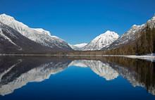 Lake McDonald Mountain Reflect...