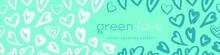 Green Fashion Pattern, Eco Fas...