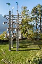 SISIKON, SWITZERLAND - OCTOBER 31.2017: Tellsplatte - The Biggest Glockenspiel Of Switzerland.