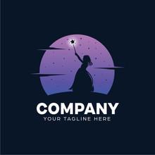 Kids Fairy Logo Design Template