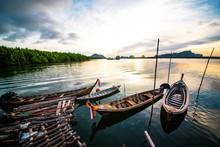 Folk Fishing Boat Southern Tha...