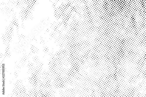 Halftone Grunge Background