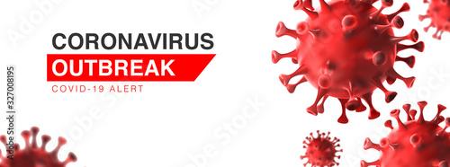 Fotografie, Obraz China epidemic coronavirus 2019-nCoV in Wuhan, Novel Coronavirus Alert outbreak in China
