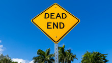 The US Dead End Sign In Florida