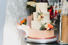 A Wonderful Wedding Cake Detai...
