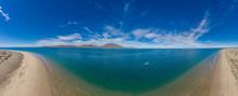 Magdalena Bay Baja California Sur Aerial Landscape In Mexico