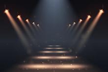 Show Spotlights With Glow Effe...