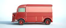 Vintage Van Red