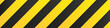 Illustration of yellow and black stripes.a symbol of dangerous and radioactive substances.The sample is widely used in industry.Vector Illustration