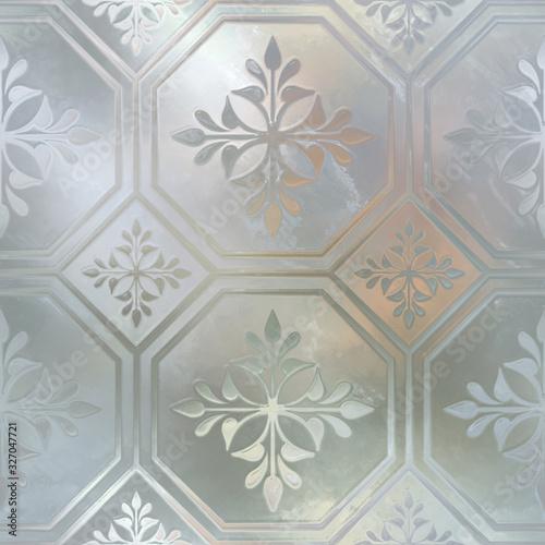 szklana-bezszwowa-tekstura-z-wzorem-dla-okno-3d-ilustracja
