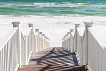 Seaside, Florida Railing Woode...
