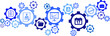 Network Gears, Business Office Icons