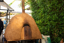 Clay Or Cob Oven And Wood Fire...