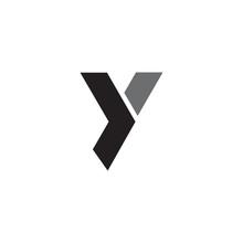 Y Letter Initial Icon Logo Des...