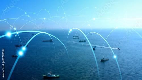 Papel de parede 船舶とネットワーク