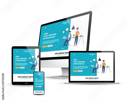 responsive design - 327124398