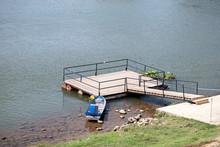 Boat Floating Walkway River Su...