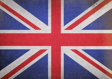 Grunge Union Jack Flag Backgro...