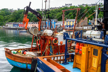 Vessels In The Harbour At Tobe...